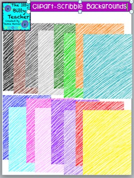 Clipart - Scribble Backgrounds