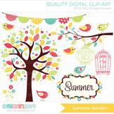 Clipart - Seasons: Summer Garden