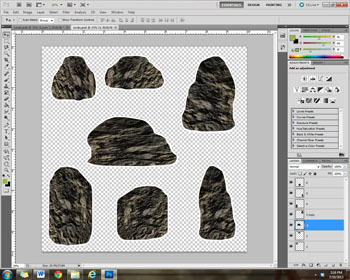 Clipart Set: Rocks! - Create Your Own Pet Rock Garden -Graphics