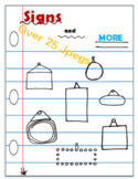 Clipart, Signs, Tags, Garage Sales, Banners, Topics, Heade