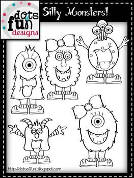Clipart: Silly Monsters