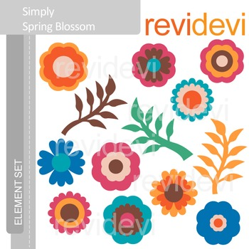 Flowers clip art - Spring Blossom - clipart resource