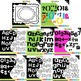 Alphas - Sketchy Rainbow Themed Bundle (Letters, Numbers a