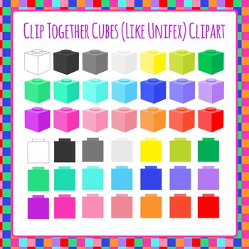 Unifex Cubes or Similar Clip Art Pack for Commercial Use