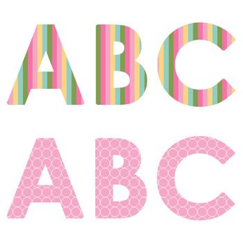 Clipart: Spring Alphabets