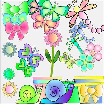 Clip Art - Spring Fling