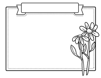 Clipart: Spring Time Borders
