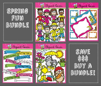 Clipart: Spring Time Bundle