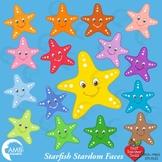 Starfish Clipart, Nautical clipart, {Best Teacher Tools} AMB-437