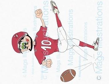Clipart Super Bowl, fun Super Bowl clipart