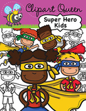 Clipart: Super Hero Kids