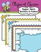 Clipart: Super Hero Super Bundle