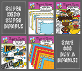Clipart: Super Hero Super Bundle
