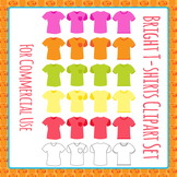 T-shirts Clip Art Pack for Commercial Use