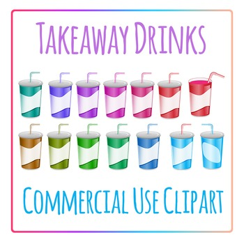 Clipart: Takeaway Soft Drink Soda Pop Clip Art