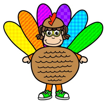 Thanksgiving Clipart: Kids