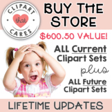 Clipart That Cares Buy the Store Lifetime Membership - 4,0