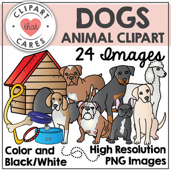 Dogs Animal Clipart by Clipart That Cares