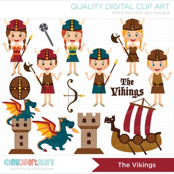 Clipart - The Vikings