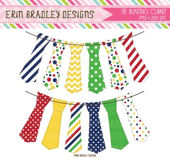 Clipart - Tie Bunting