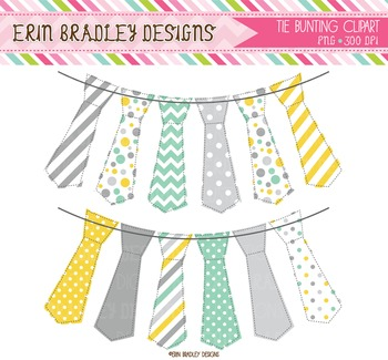 Clipart - Tie Bunting Graphics