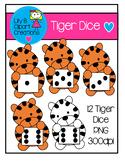 Clipart - Tiger Dice