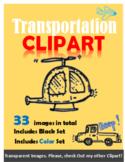 Clipart, Transportation, Images, Air & Land, Printables, L