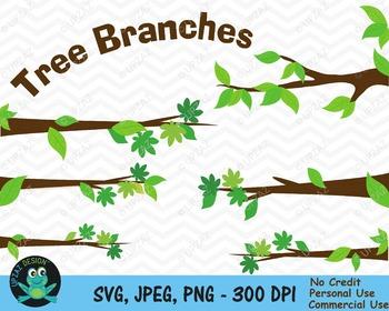 Tree Branches {Upzaz Digital Clipart}