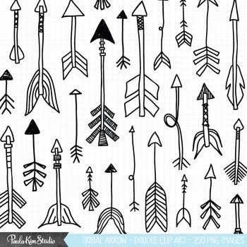 Tribal Arrows Clipart