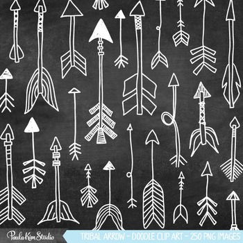 Tribal Arrows Clipart