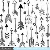 Fancy Doodle Arrow Clipart