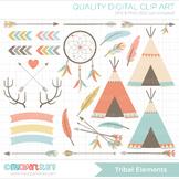 Clipart - Tribal Elements (1) / Aztek / Navaho / American Indian