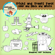 Clipart: Tricks and Treats Two! - halloween