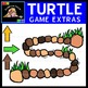 Clipart: Turtle Spinners, Arrows, and Gameboard {Sweet Line Design}
