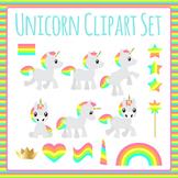 Unicorn Clip Art Set for Commercial Use