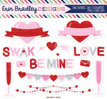 Clipart - Valentines Day