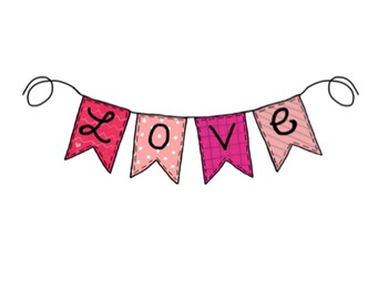 Valentine's Day Clipart {February}