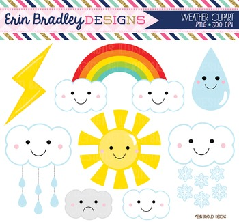 Clipart - Weather Graphics