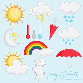 Clip Art: Weather Set