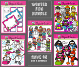 Clipart: Winter Fun Bundle