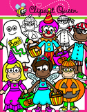 Halloween Clipart: Costume Kids