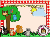 Clipart - Woodland Creatures