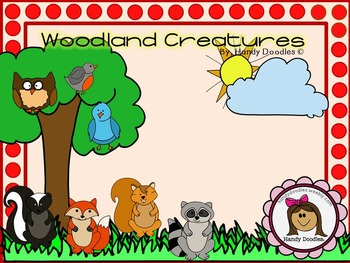 Clipart - Woodland Creatures