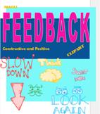 Clipart, Words, Phrases, Praise, Encouragement, Digital, Feedback