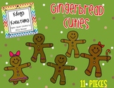 Clipart by {Khrys Kreations} *Gingerbread Cuties*