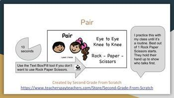 Clipart for Timed Pair Share