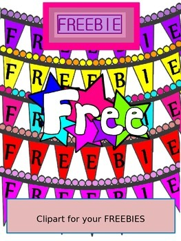 Clipart for your TPT Freebies - - - - and its FREE-FREE-FREE