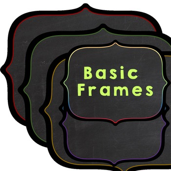 Clipart frames basic style 12+ png images