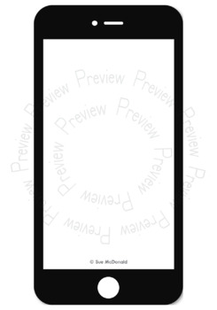 Clipart - iDevices, iPhone, iPad, iPod, MacBook, Apple Watch