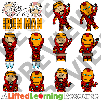 Clip Art - IRON MAN